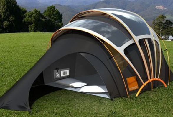 U..S. military solar tent or mobile home design