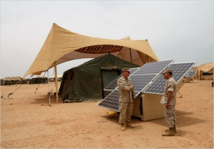 U.S. Military Solar Panel ... & solar powered tent | Sun Is The Future