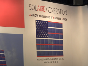 Solaire Generation for American Independence by Renewable Energy